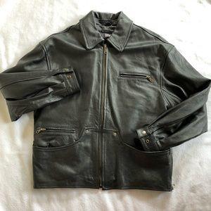 Thinsulate Genuine Leather Coat